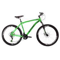 Bicicleta Aro 26 Stone Bike Equinox 21 Marchas Freio A Disco Verde - Stone Bikes