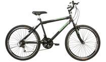 Bicicleta Aro 26 Thunder 21 M Sport Gold Preto - Mega Bike