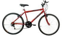 Bicicleta Aro 26 Thunder 21 M Sport Vermelho - Mega Bike