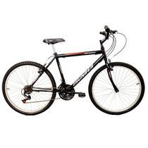 Bicicleta Aro 26 Track Bikes Thunder 18 Marchas Preta -
