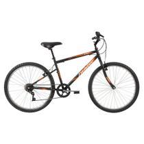 Bicicleta ARO 26 - Twister - Preta - Caloi -