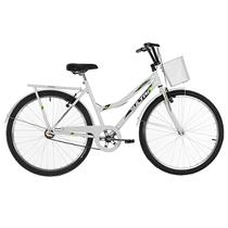 Bicicleta Aro 26 Ultra Bikes Tropical Summer V-Break Branca