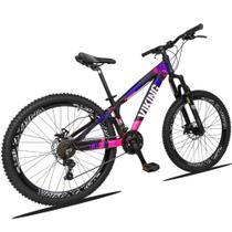 Bicicleta Aro 26 Viking TUFF 21v Câmbios Shimano Freio a Disco -