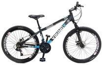 Bicicleta Aro 26 Viking Tuff X30 21 Marchas Freio A Disco -