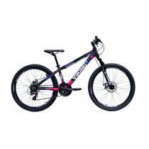 Bicicleta Aro 26 Viking Tuff X30 Feminina 21 Marchas Freio A Disco -