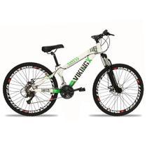Bicicleta Aro 26 Vikingx 21V Index Freio a Disco -