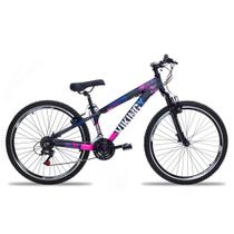 Bicicleta Aro 26 Vikingx 21V Index Freio V-Brake