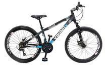Bicicleta Aro 26 VikingX Tuff30 21 Marchas Freios A Disco Mecanico -