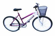 Bicicleta aro 26 wendy fem s/marcha convencional cor violeta -