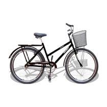 Bicicleta Aro 26 Wendy Modelo Poti  Com Cesta Cores -