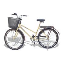 Bicicleta Aro 26 Wendy Modelo Poti  Com Cesta -