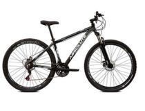 Bicicleta aro 29 Absolute Nero Alumínio 21 Marchas Freio a Disco Suspensão -