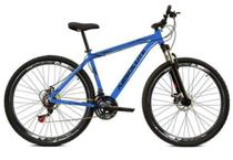 Bicicleta aro 29 Absolute Nero III 21V Freio Disco Hidráulico Suspensão Azul Tam.19 Alumínio -