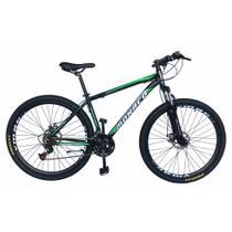 Bicicleta aro 29 aero monaco pegasus - alumínio - Depedal