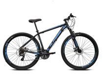 Bicicleta Aro 29 Alfameq ATX 27v Hidráulico K7 e Trava -