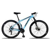 Bicicleta Aro 29 Alumínio 21v Freio a Disco com Suspensão Dropp -