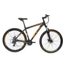Bicicleta Aro 29 Alumínio GTA 24v Freio Disco T19 Laranja -