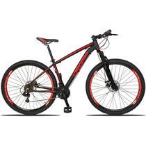 Bicicleta Aro 29 Câmbios Shimano 21v Preto Vermelho Dropp - Dropp bikes