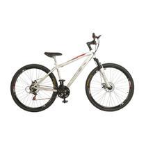 Bicicleta Aro 29 Carbon Steel MTB 21 Marchas Shimano com Suspensão Freio a Disco KLS -