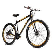 Bicicleta Aro 29 de Aço 21 Velocidades Freio a Disco Garfo Rígido - Avance