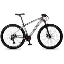 Bicicleta Aro 29 Dropp Rs1 21v Câmbio Shimano Tamanho 17 M Suspensão com Trava -