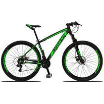 Bicicleta Aro 29 Dropp Z3 21v Câmbio Shimano Freio a Disco Preto e Verde -