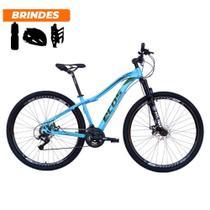 Bicicleta Aro 29 Ecos Onix 21v Freio A Disco Mecâ Azul Bebê -
