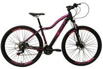 Bicicleta Aro 29 Feminina 24 Marchas Câmbios Shimano Freio Disco Hidráulico Garfo com Suspensão - Ksw