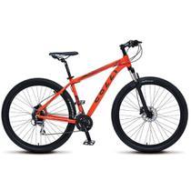 Bicicleta Aro 29 Freio a Disco Shimano Altus MTB Alumínio Laranja Neon - Colli Bikes -
