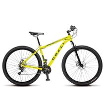 Bicicleta Aro 29 Freio a Disco Shimano MTB Alumínio Amarelo Neon - Colli Bikes -