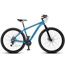 Bicicleta Aro 29 Freio a Disco Shimano MTB Alumínio Azul Fosco - Colli Bikes -