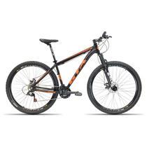 Bicicleta Aro 29 GTA NX11 21V Index Freio a Disco Preto com Laranja 17 -