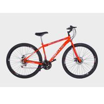 Bicicleta Aro 29 KLS Sport Gold 21 Marchas Freio a Disco Mountain Bike -