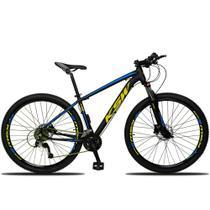 Bicicleta Aro 29 KSW 27v GTA Freio a Disco Suspensão com Trava - Dropp