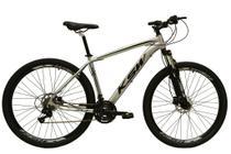 Bicicleta aro 29 Ksw Xlt 24v Alumínio Freio a Disco Garfo Suspensão Prata Tam.15 -