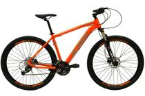 Bicicleta aro 29 Ksw Xlt 27v Câmbios Shimano Altus Freios Hidráulicos Laranja Neon Tam. 17 -