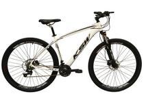 Bicicleta Aro 29 Ksw Xlt Câmbios Shimano 24v Freio a Disco Hidráulico Garfo Com Trava Branca Tam.17 -