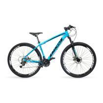Bicicleta Aro 29 MKD King 21v Câmbios Shimano Freio a Disco Azul e Preto Quadro 17 - Mkd Bikes