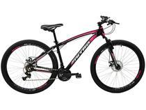 Bicicleta Aro 29 Mountain Bike Polimet Nitro 7163 - Freio a Disco 21 Marchas Câmbio Shimano
