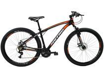 Bicicleta Aro 29 Mountain Bike Polimet Nitro 7164 - Freio a Disco 21 Marchas Câmbio Shimano