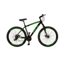 Bicicleta Aro 29 MTB Alumínio Freio a Disco Tamanho 17 KLS -