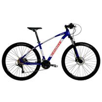 Bicicleta Aro 29 Mtb Redstone Aquila Alumínio 27v Azul -