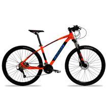 Bicicleta Aro 29 Mtb Redstone Aquila Alumínio 27v Laranja -