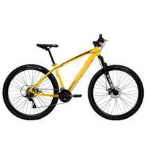 Bicicleta Aro 29 Mtb Redstone Nitro Alumínio 24v Amarelo -