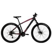 Bicicleta Aro 29 Mtb Redstone Nitro Alumínio 24v Preto Rosa -