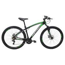 Bicicleta Aro 29 Polimet Nitro MTB Freio A Disco 21 Marchas Verde -
