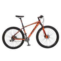 Bicicleta Aro 29 Quadro 17 Alumínio Freio Hidráulico 27v Shimano Alívio F11 Laranja - Colli Bike -