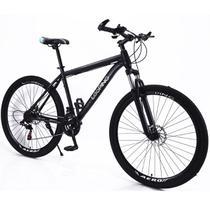 Bicicleta Aro 29 Shimano 21 marchas Freio à Disco Suspensão Alumínio Looping -