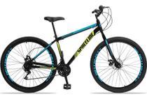 Bicicleta Aro 29 Spaceline Moon 21 Marchas Freios A Disco Garfo Rígido -