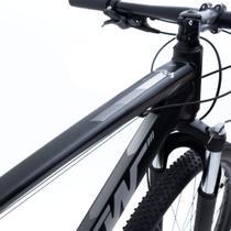 Bicicleta Aro 29 TSW Hunch 24V Camb. Shimano Quad. Alumínio Tam. 17 Preto / Cinza -